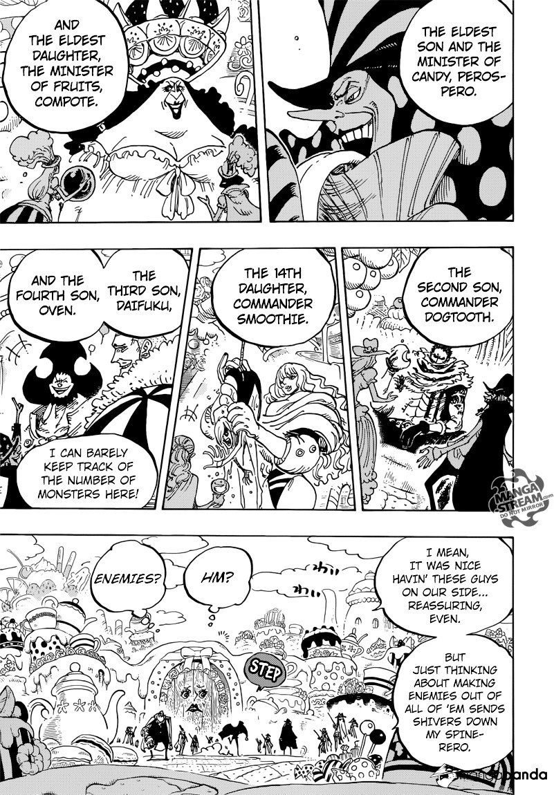 One Piece - chapter 861 - #3