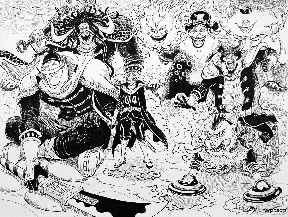 One Piece - chapter 875 - #3
