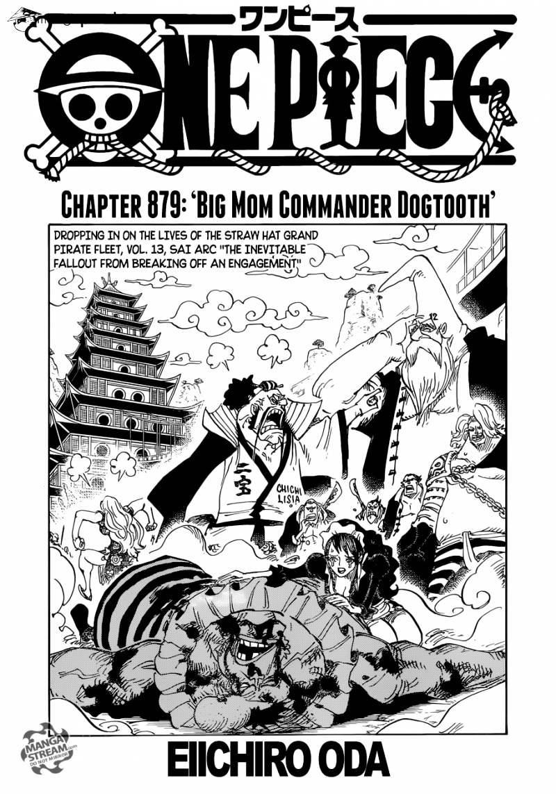 One Piece - chapter 879 - #1
