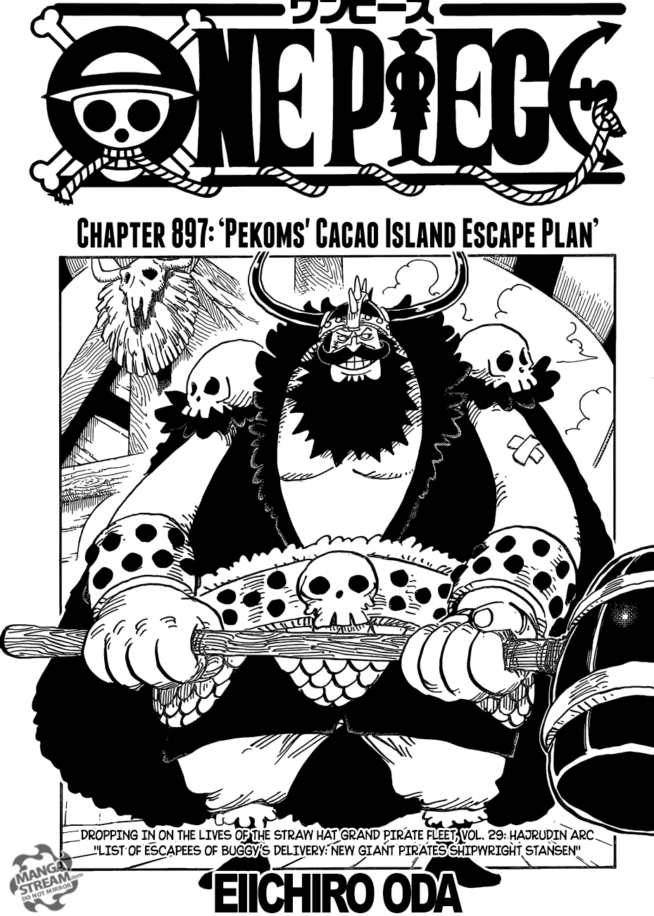 One Piece - chapter 897 - #1