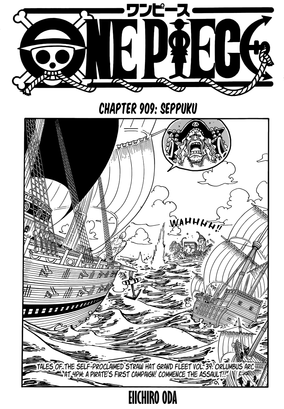 One Piece - chapter 909 - #1