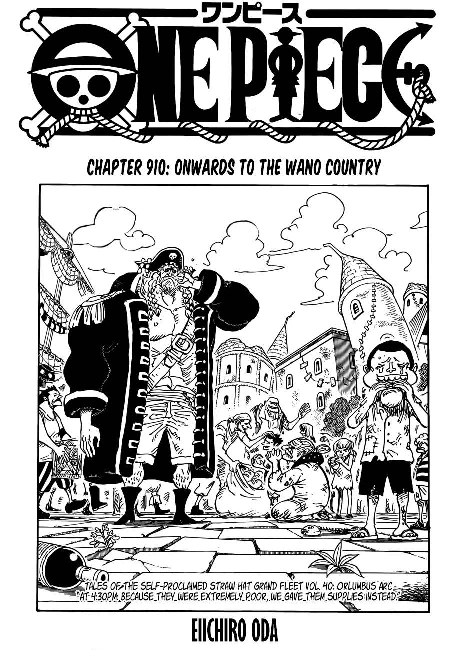 One Piece - chapter 910 - #1