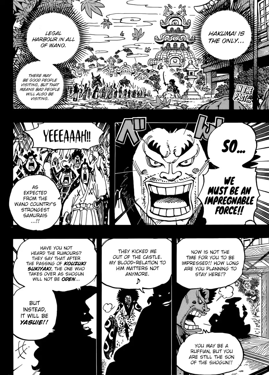 One Piece - chapter 942 - #3