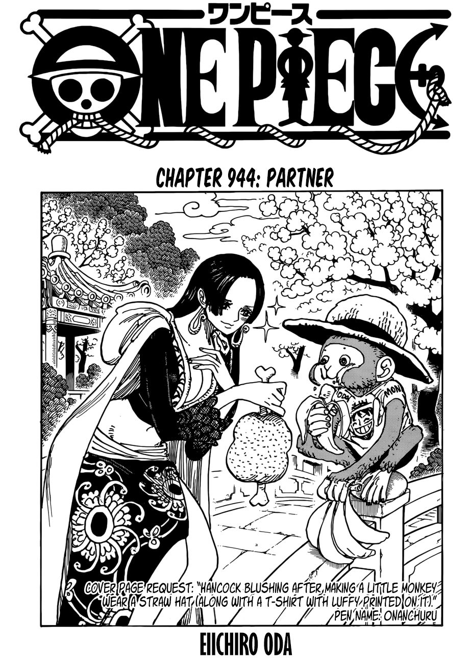 One Piece - chapter 944 - #1