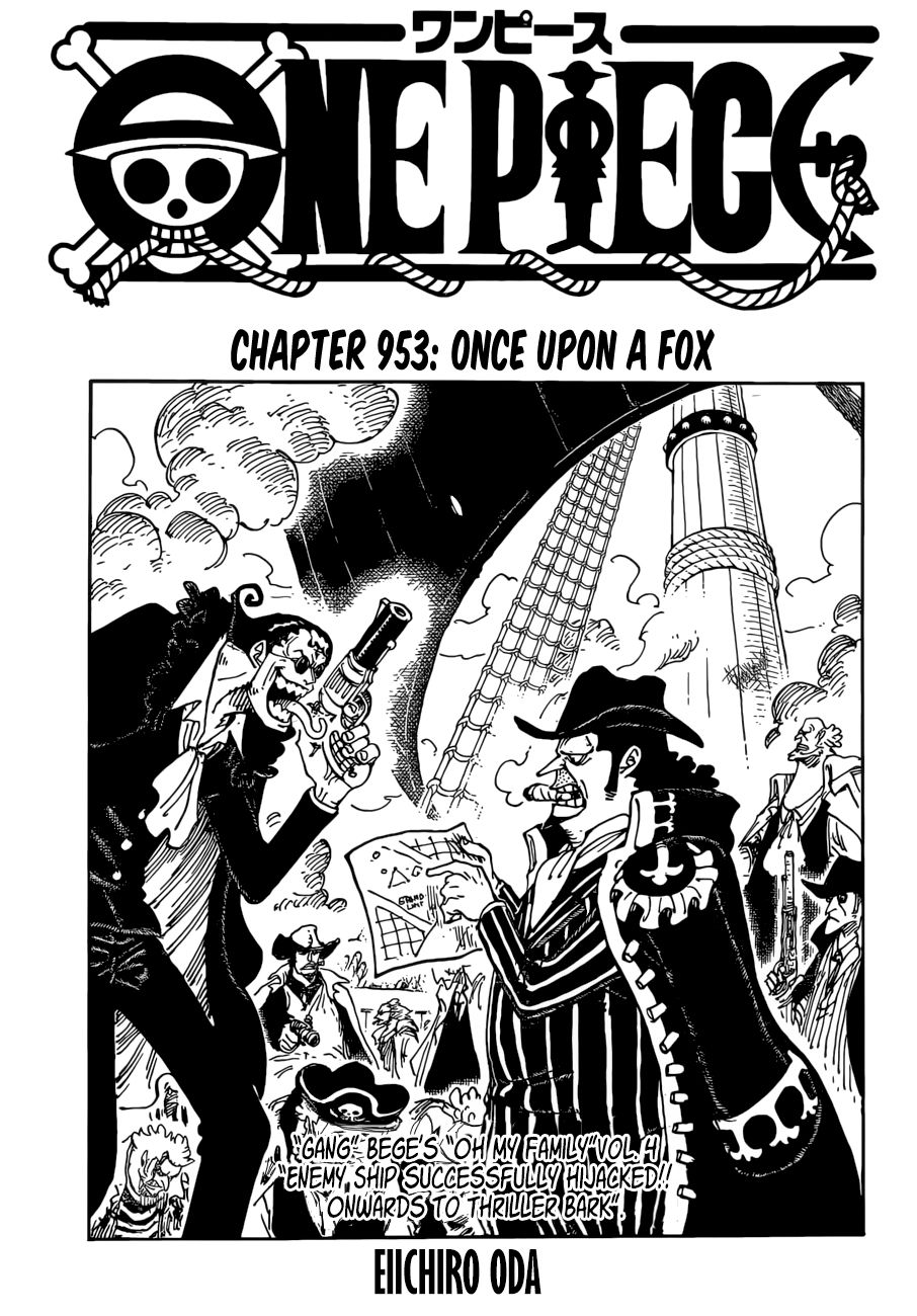 One Piece - chapter 953 - #1