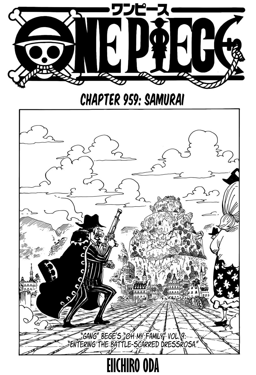 One Piece - chapter 959 - #1