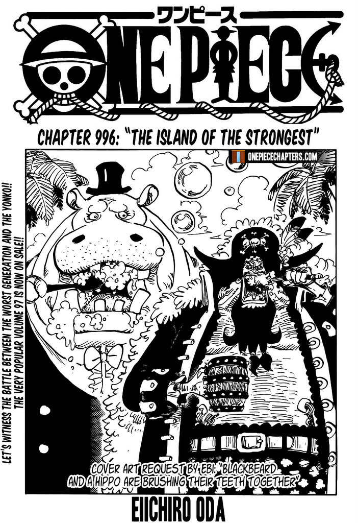 One Piece - chapter 996 - #1