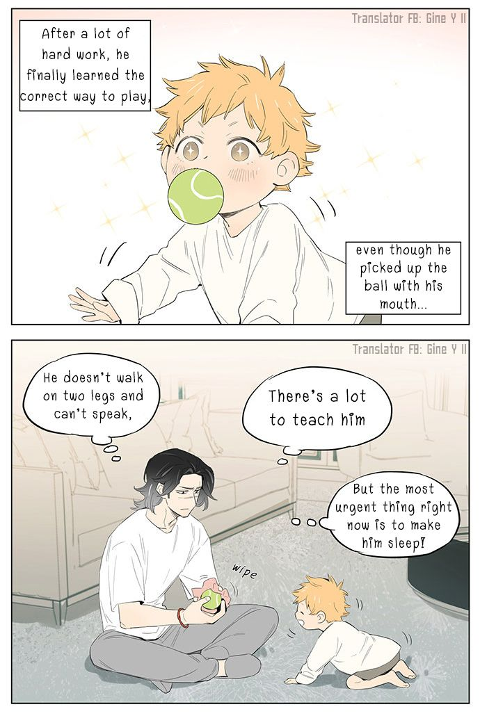 Papa Wolf and The Puppy - chapter 30 - #2