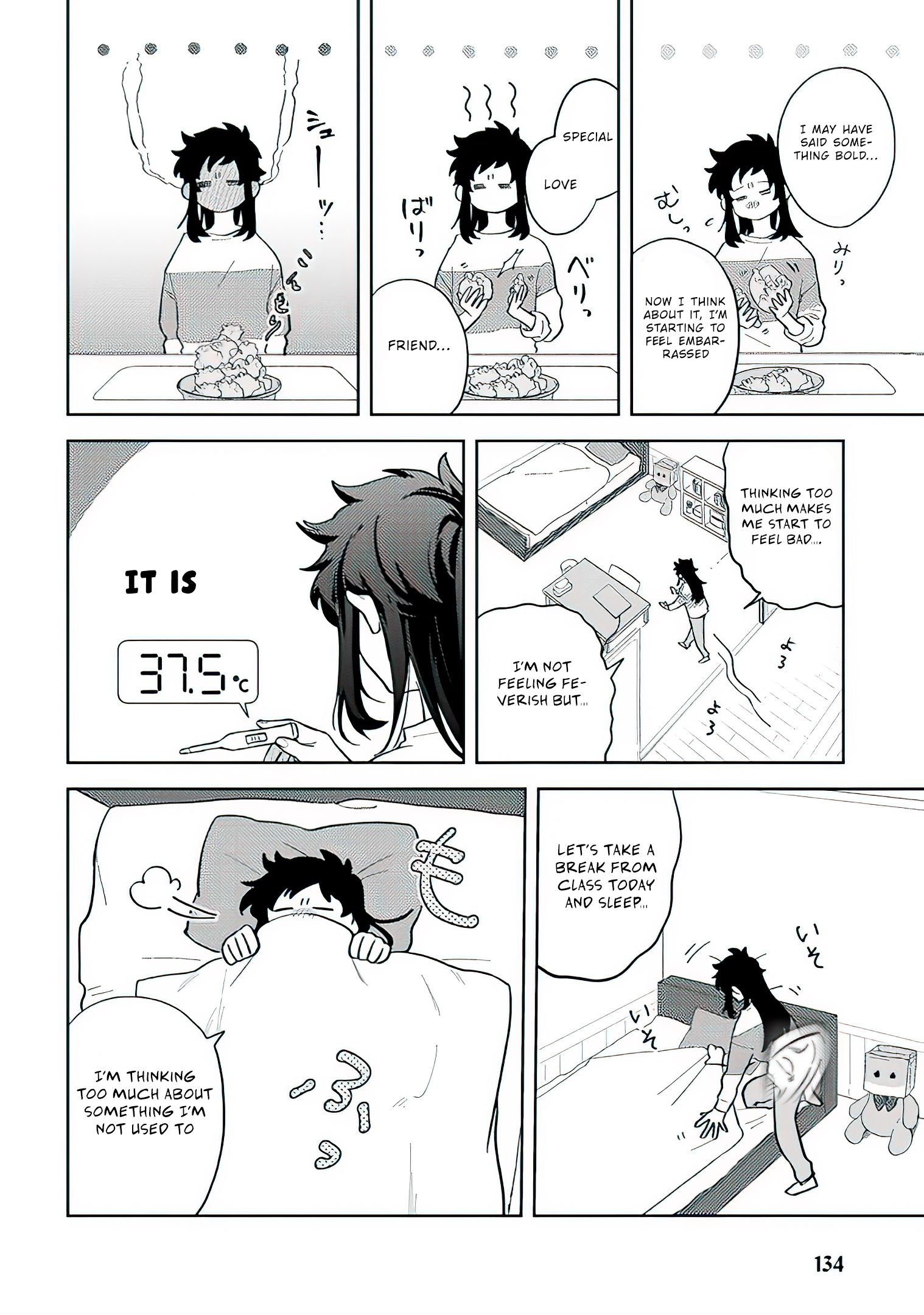 Paperbag-kun is in love - chapter 8 - #3