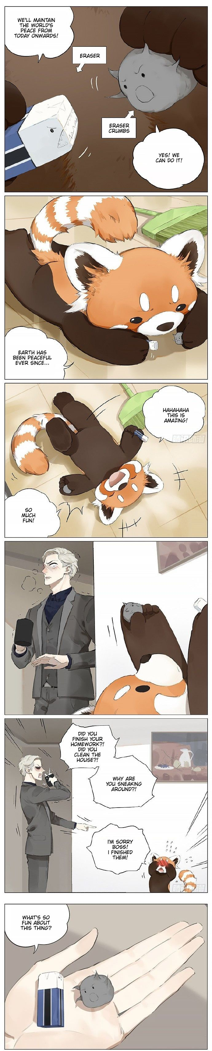 Please Call Me Red Panda - chapter 11 - #2