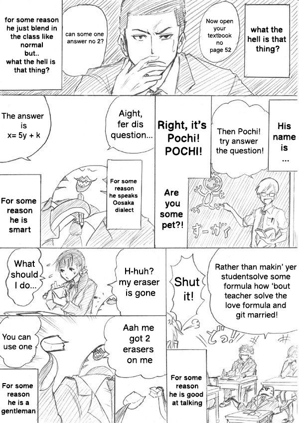 Pochi in My Class - chapter 1 - #2
