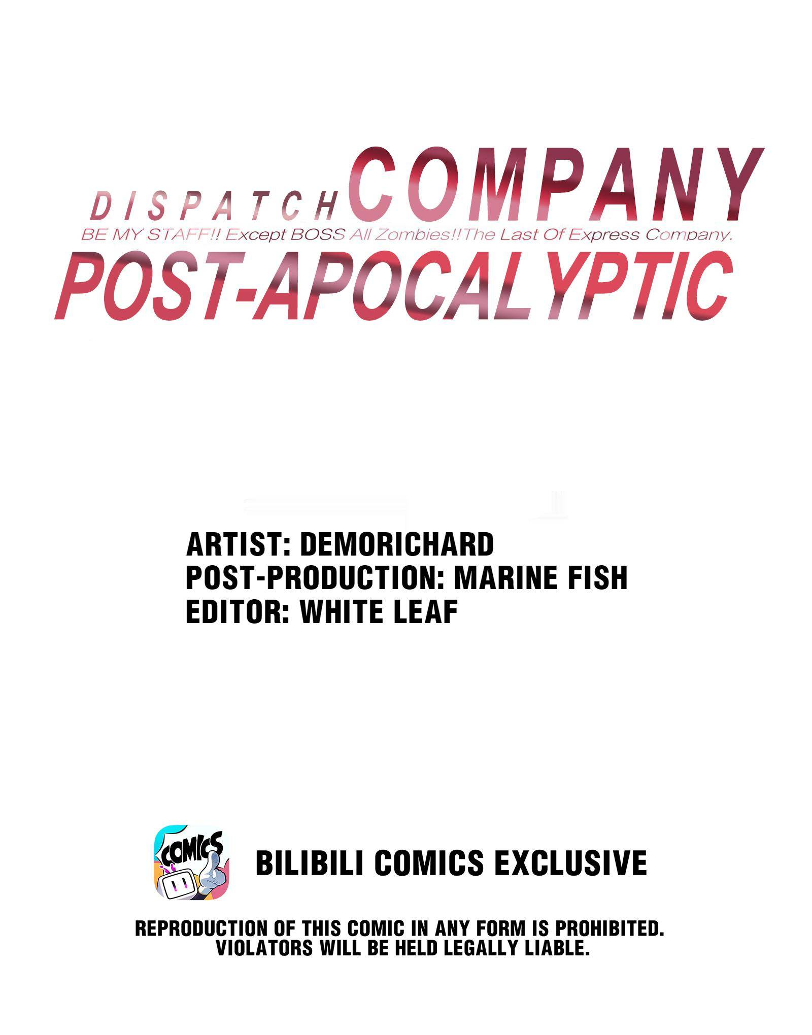 Post-Apocalyptic Dispatch Company - chapter 10 - #1