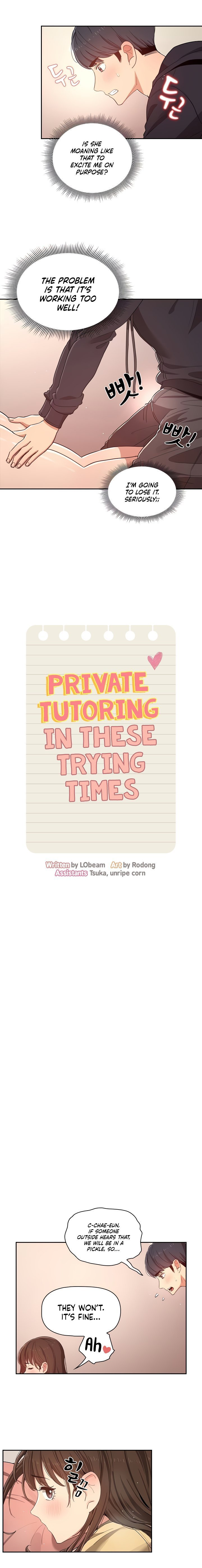 Private Tutoring in These Trying Times - chapter 13 - #2