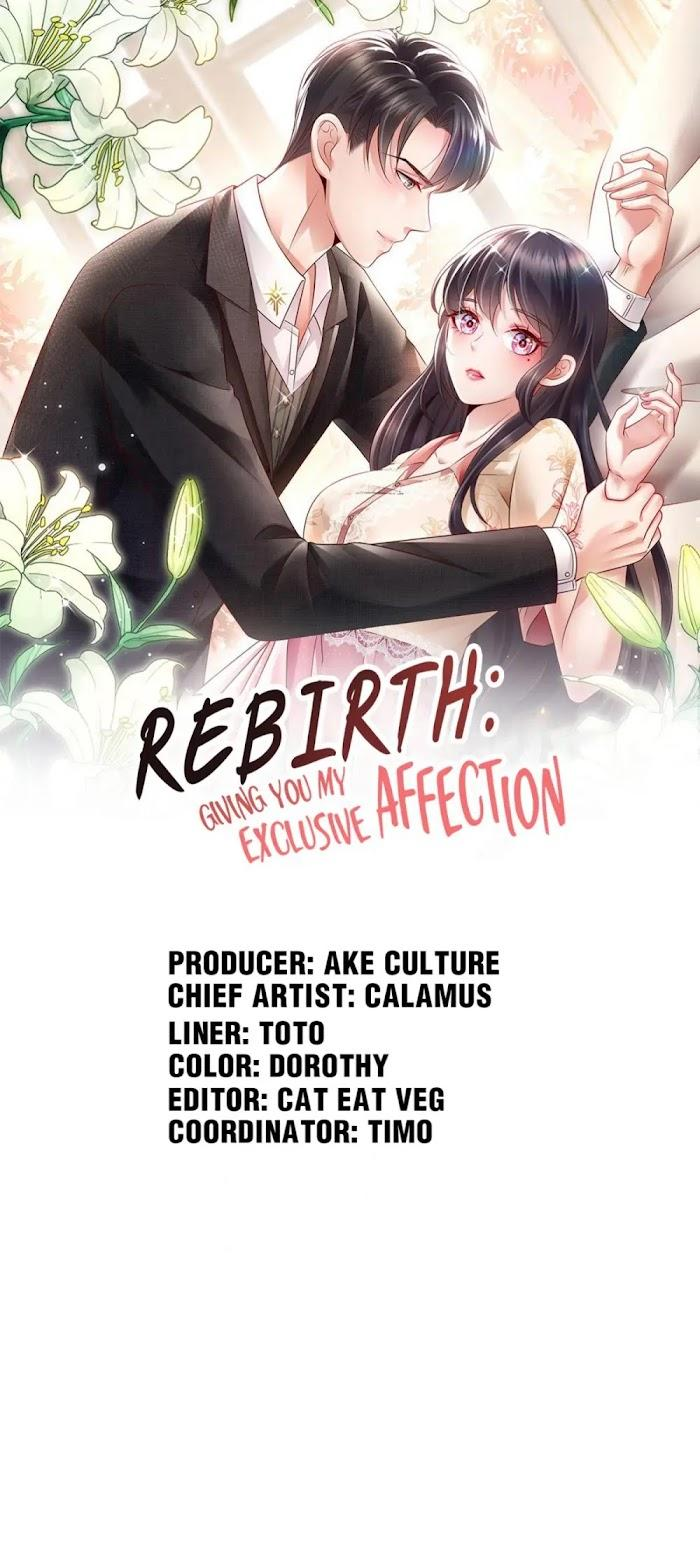 Rebirth Meeting: For You And My Exclusive Lovers - chapter 37 - #1