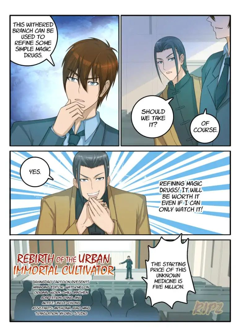 Rebirth Of The Urban Immortal Cultivator - chapter 44 - #2