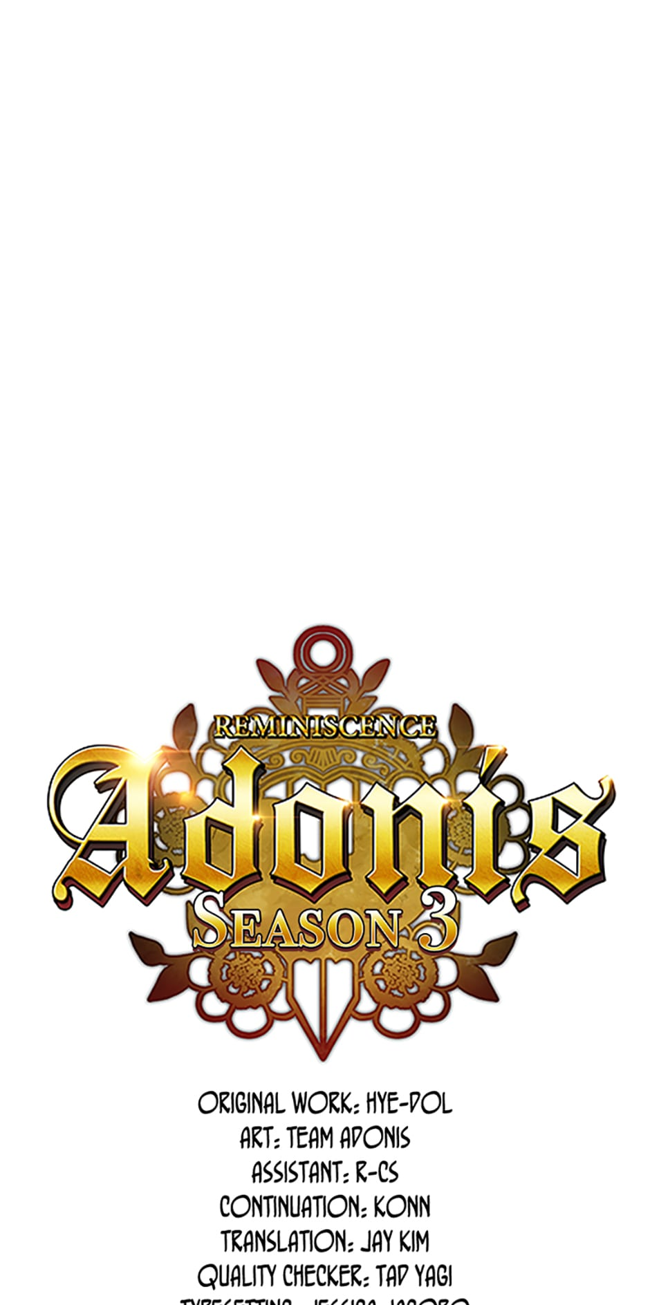 Reminiscence Adonis - chapter 101 - #1