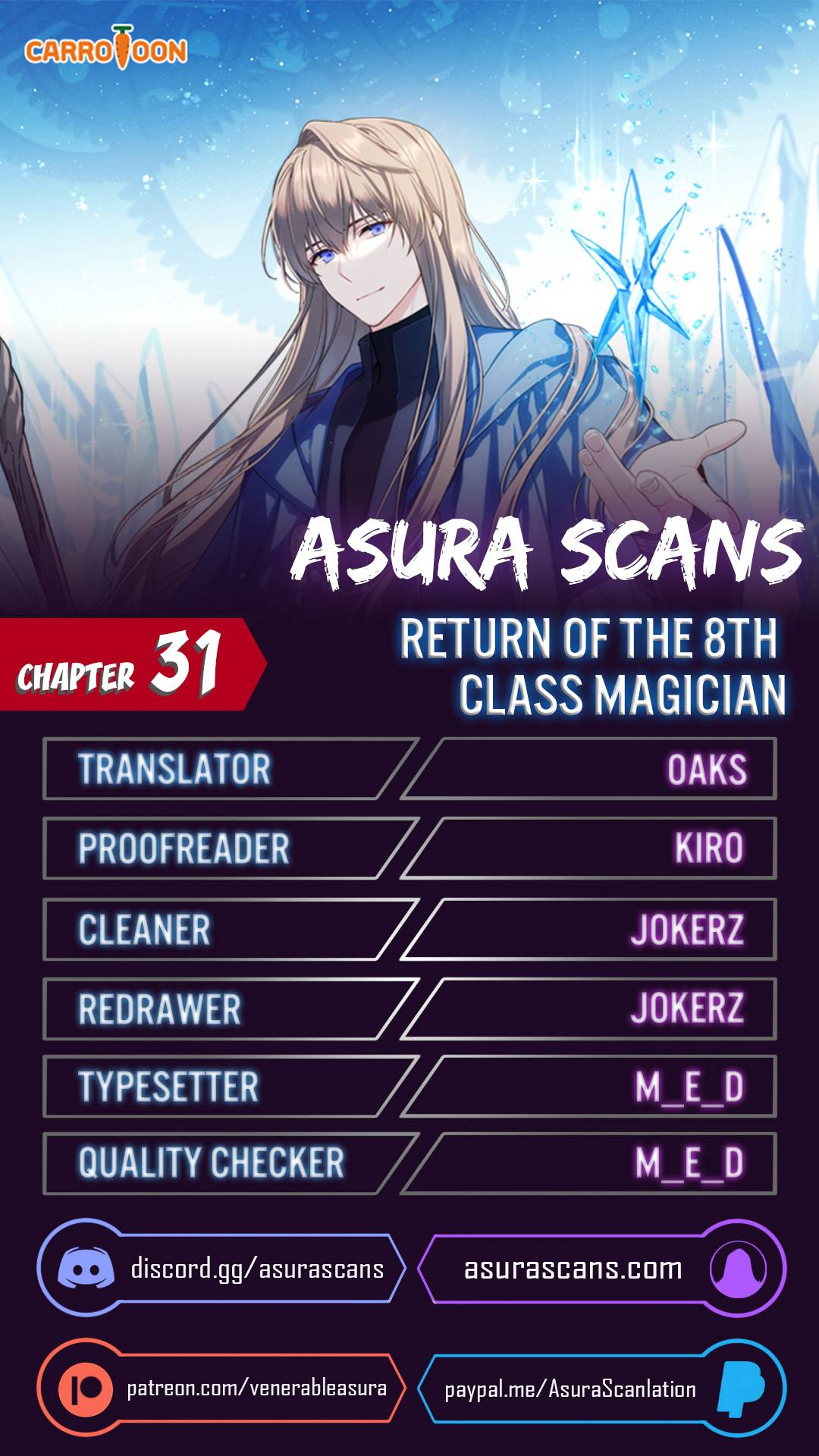 The Return Of The 8Th Class Magician - chapter 31 - #1