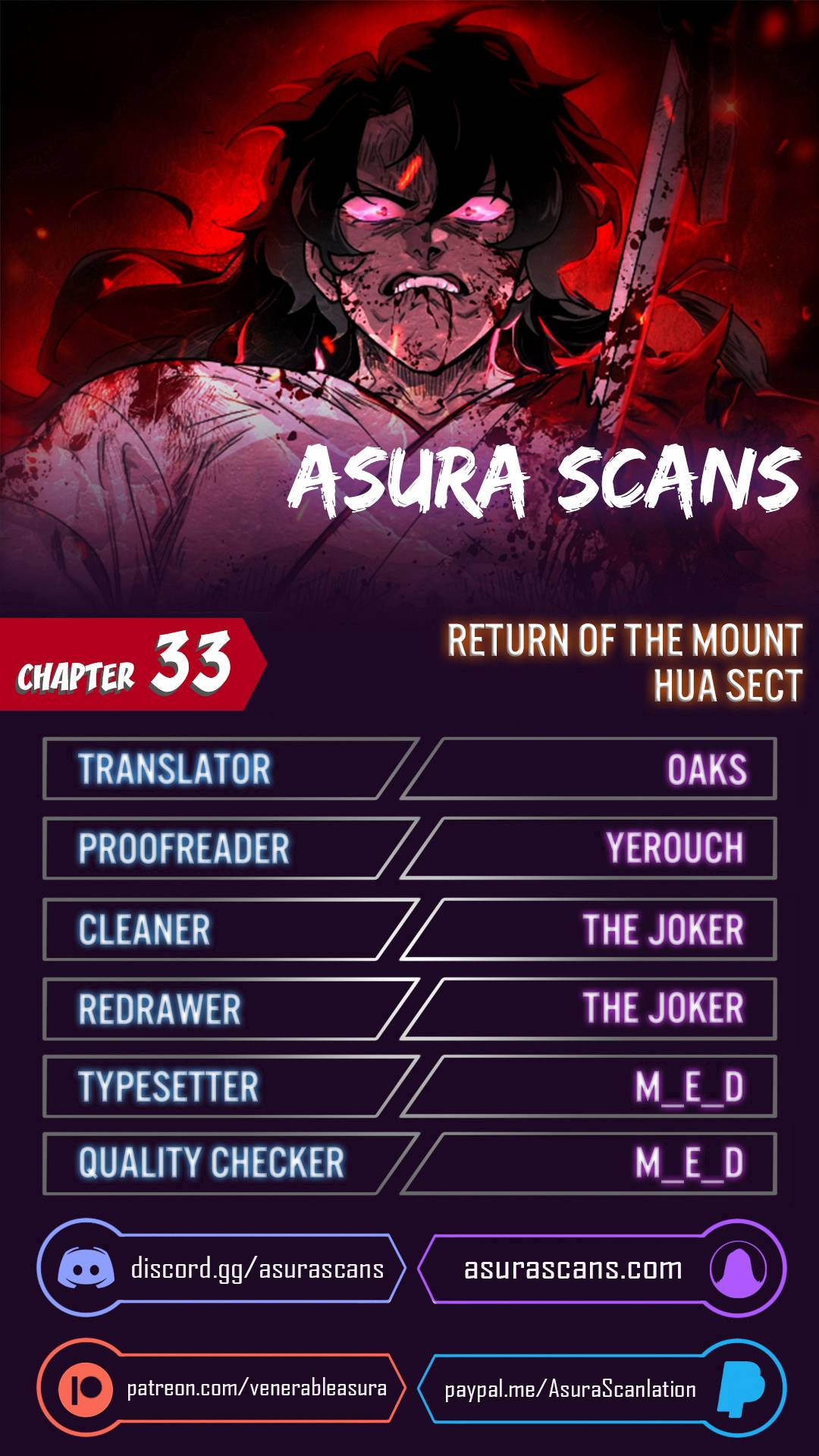 Return of the Flowery Mountain Sect - chapter 33 - #1
