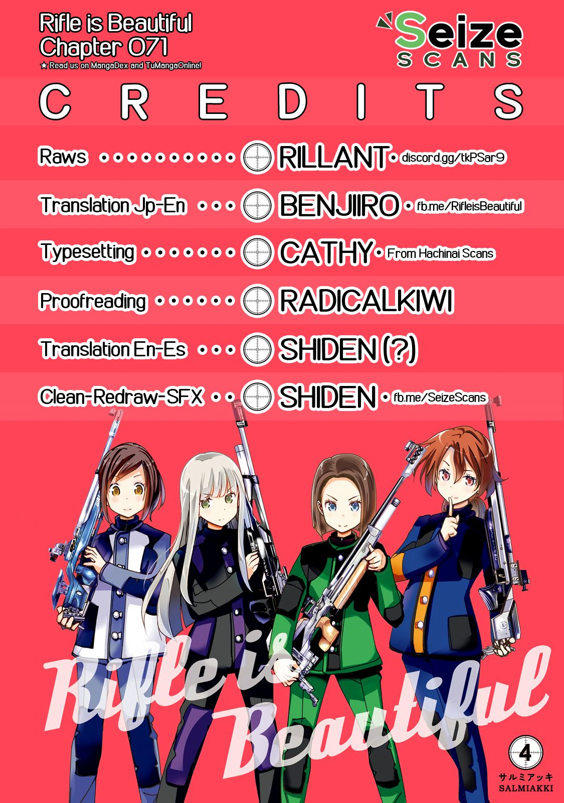 Rifle Is Beautiful - chapter 71 - #1