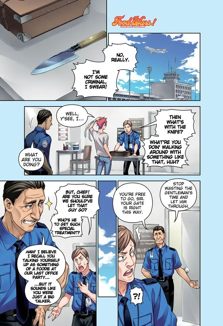 Shokugeki No Soma - chapter 315.3 - #1
