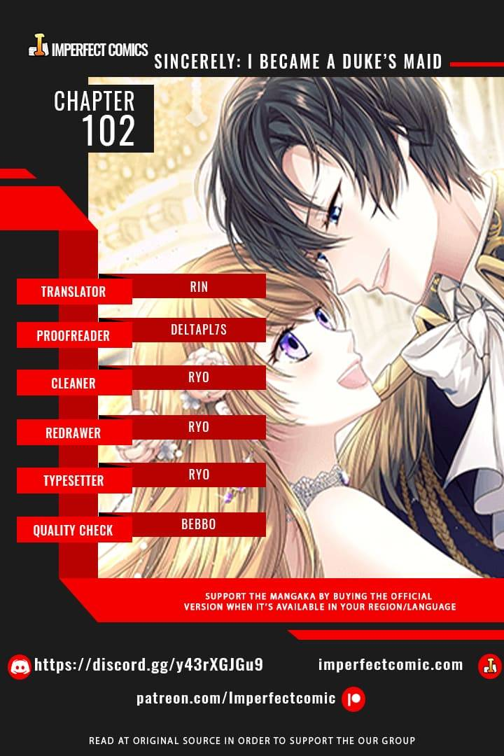 Sincerely: i Became a Duke's Maid - chapter 102 - #1