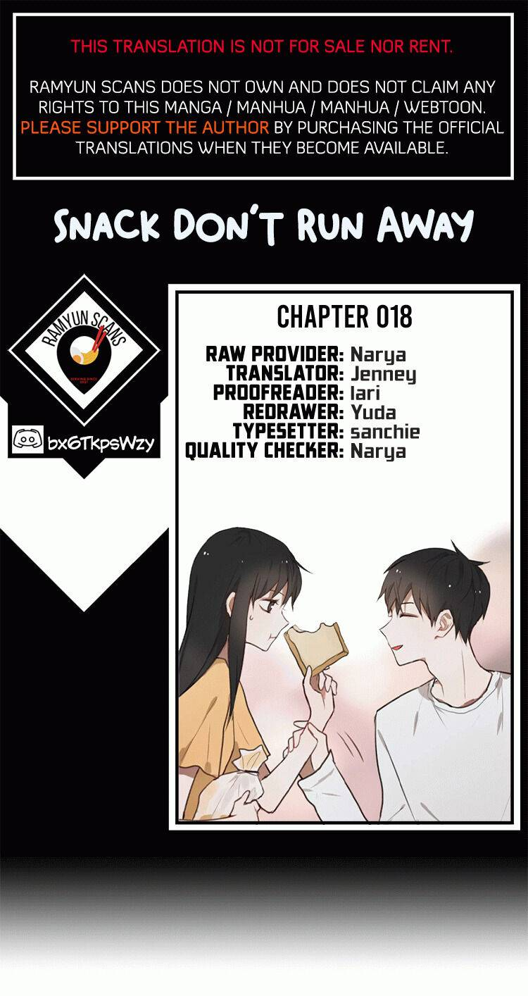Snack, Don't Run Away - chapter 18 - #1