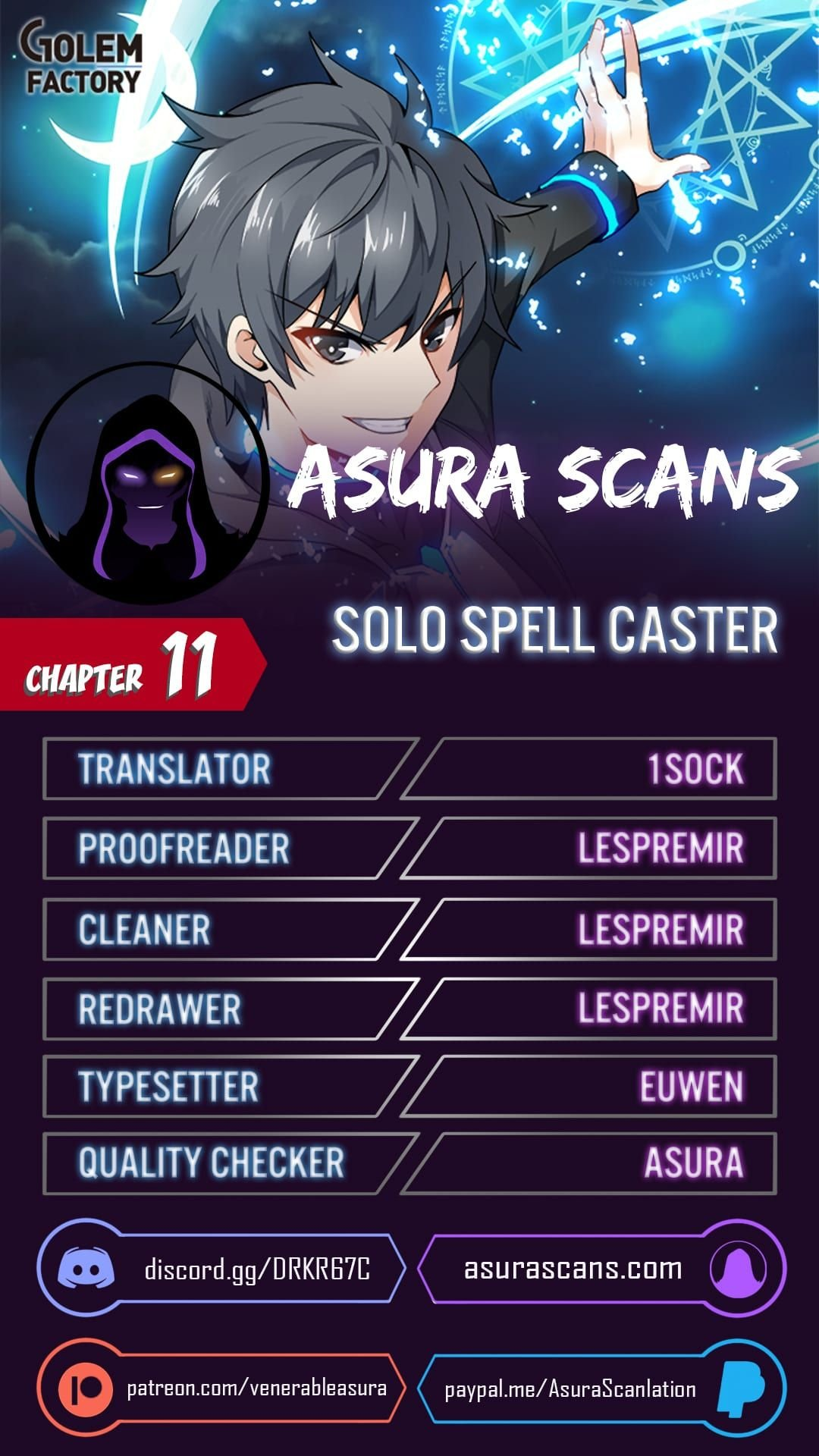 Solo Spell Caster - chapter 11 - #1