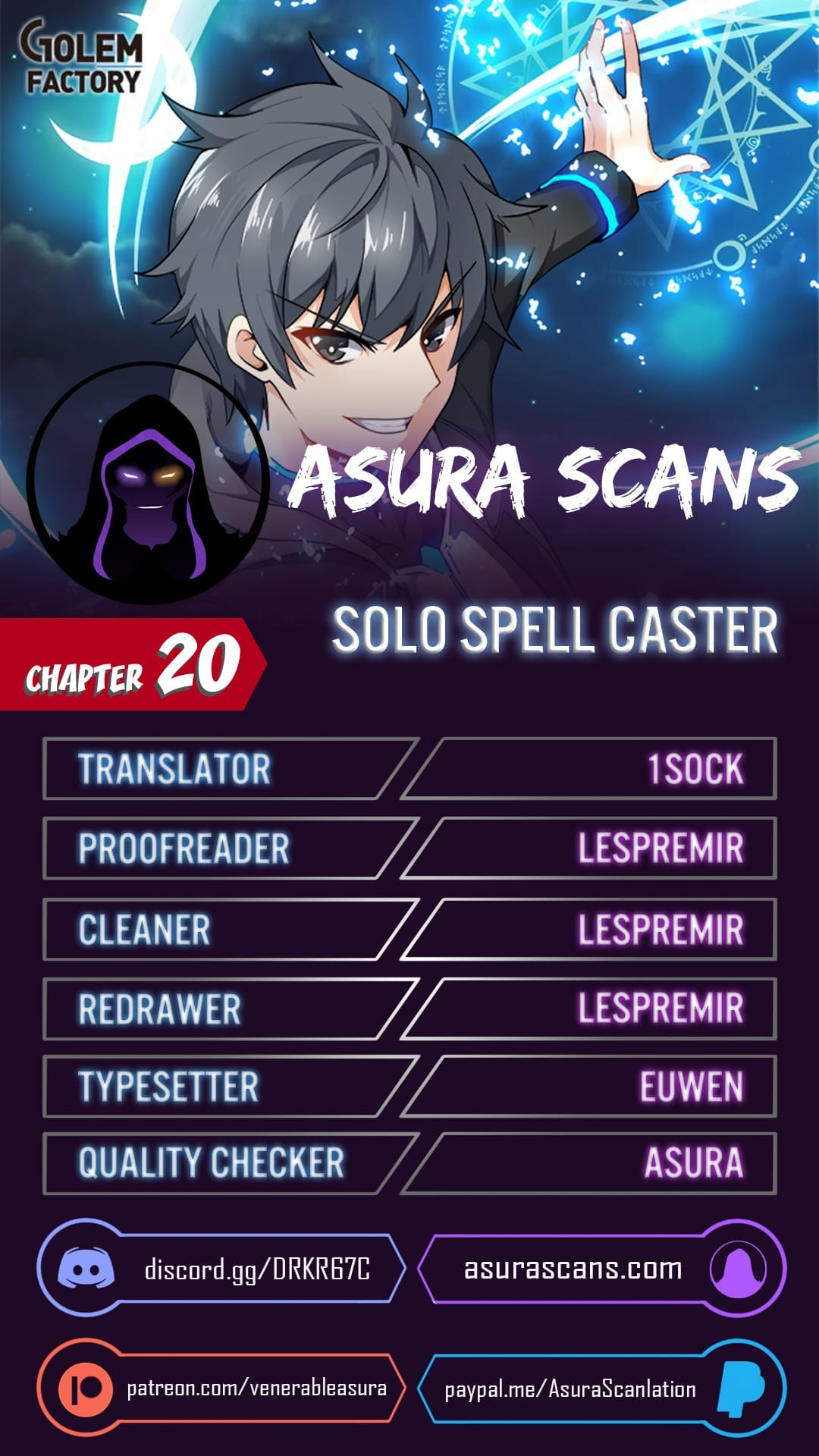 Solo Spell Caster - chapter 20 - #1