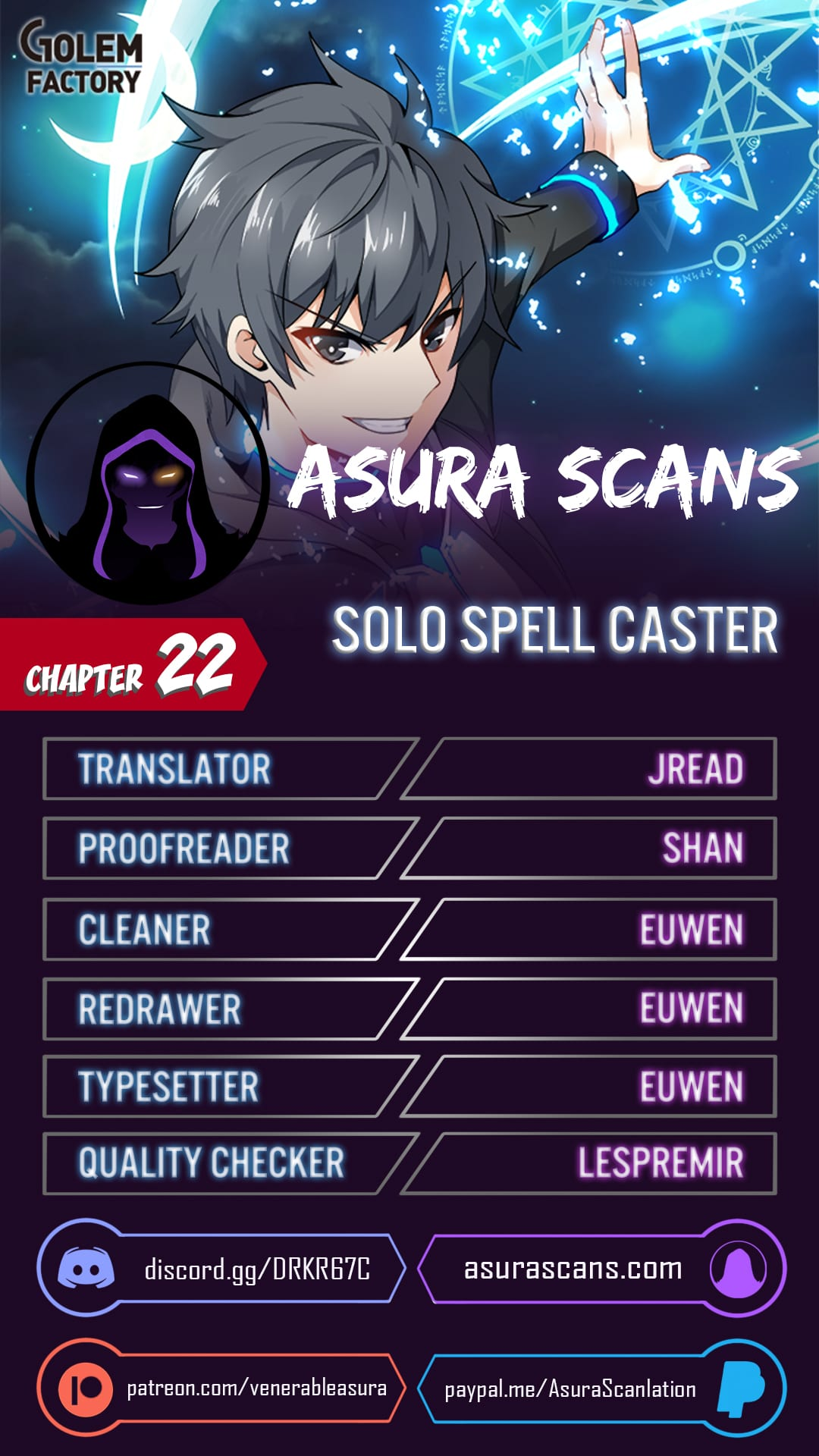 Solo Spell Caster - chapter 22 - #1