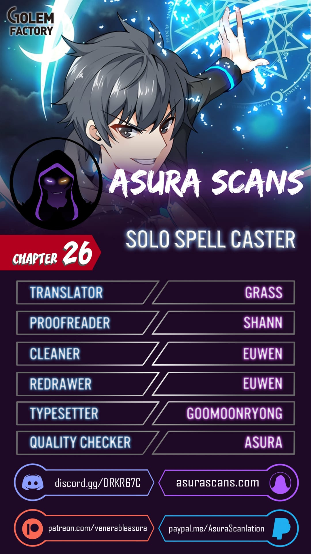 Solo Spell Caster - chapter 26 - #1