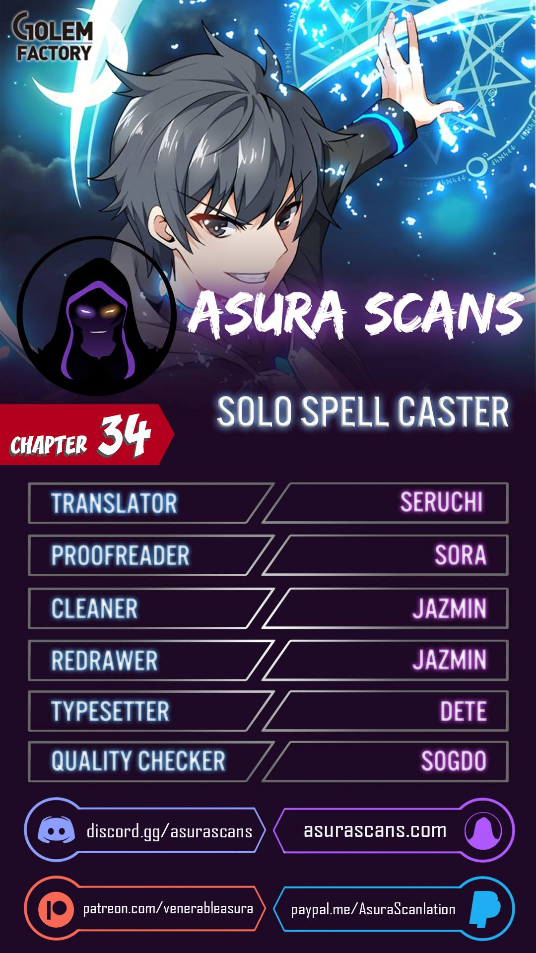 Solo Spell Caster - chapter 34 - #1