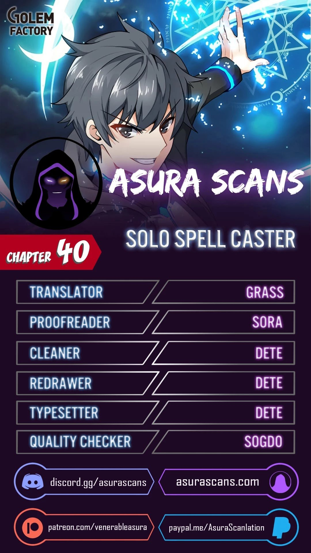Solo Spell Caster - chapter 40 - #1