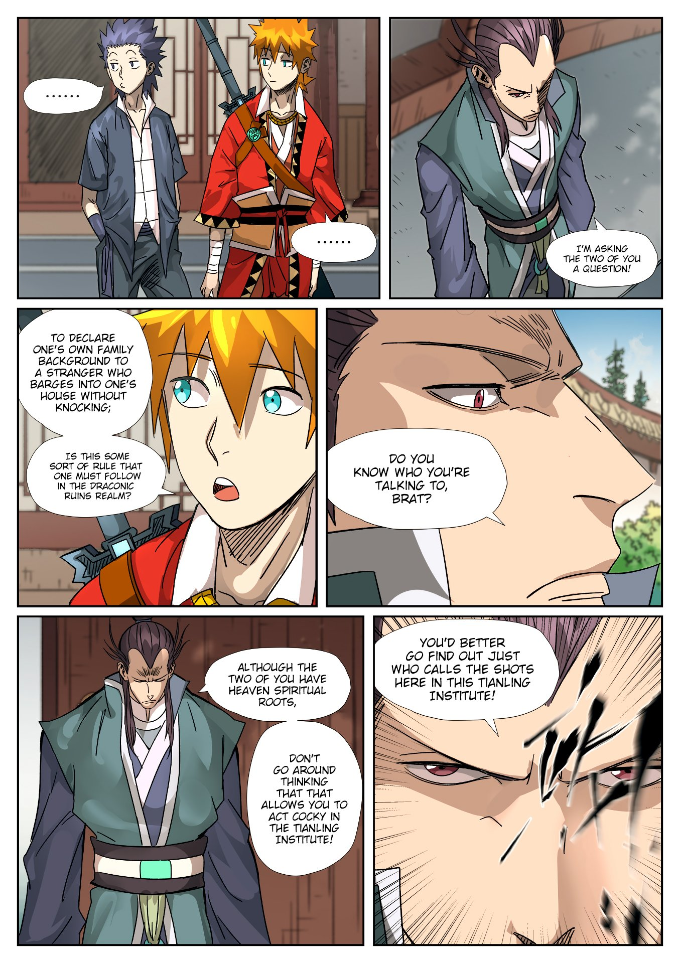 Tales of Demons and Gods - chapter 302.5 - #2