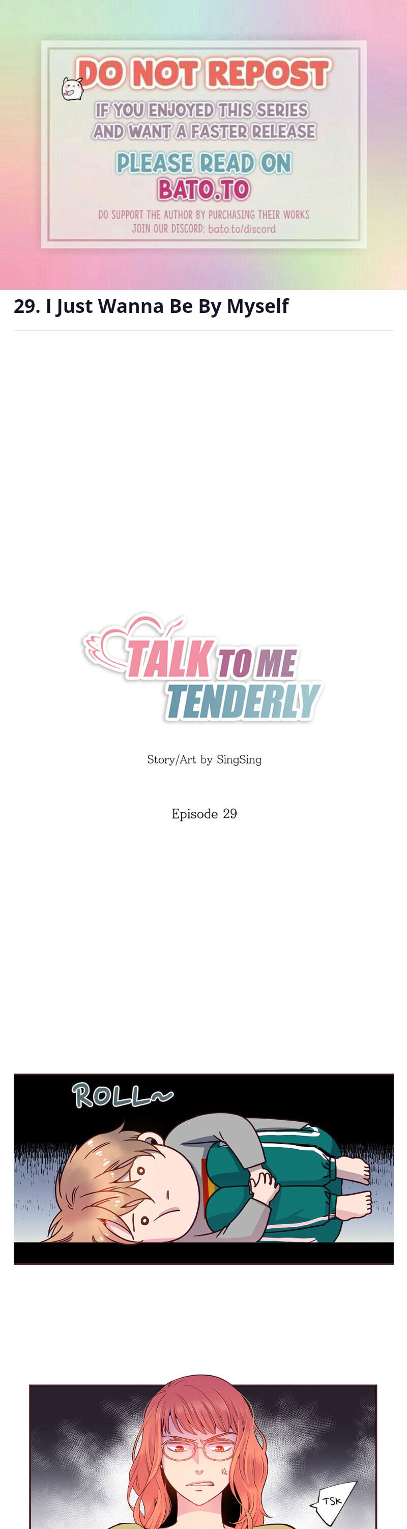 Talk To Me Tenderly - chapter 29 - #1