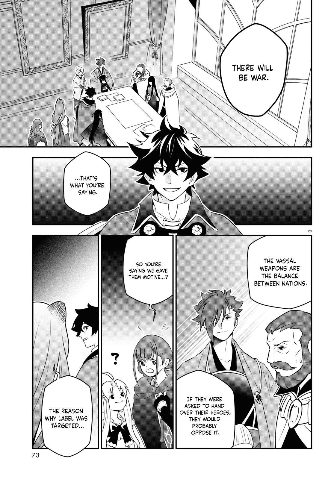 The Rising of the Shield Hero - chapter 77 - #23