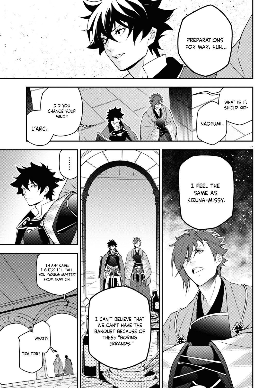 The Rising of the Shield Hero - chapter 77 - #27