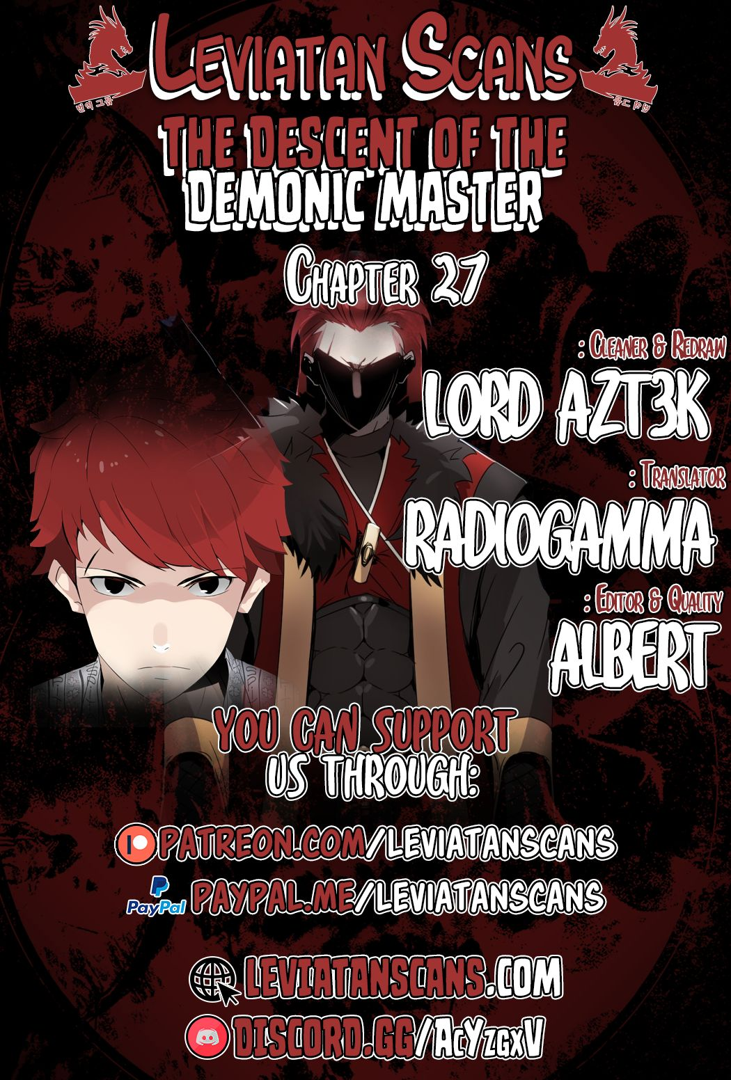 The Descent of the Demonic Master - chapter 27 - #1