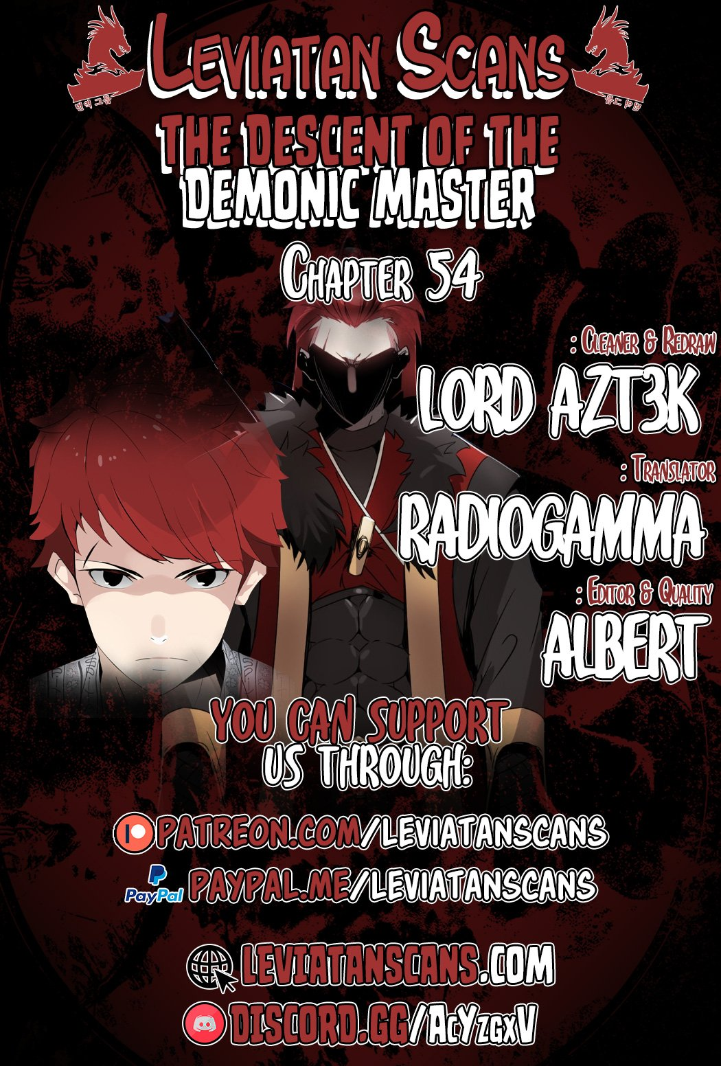 The Descent of the Demonic Master - chapter 54 - #1