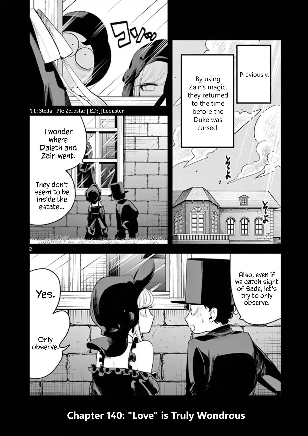 The Duke of Death and his Black Maid - chapter 140 - #2