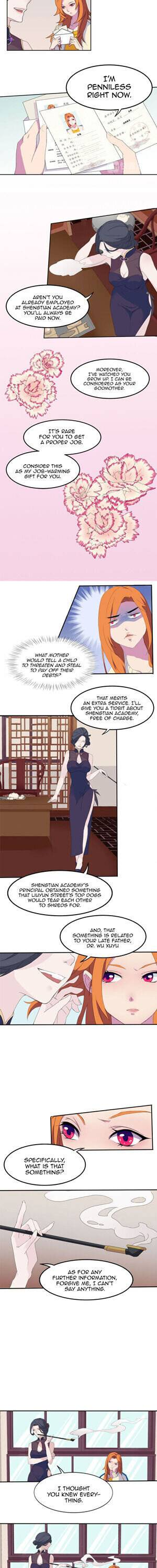 The Female Teacher Who Fights Back - chapter 8 - #2