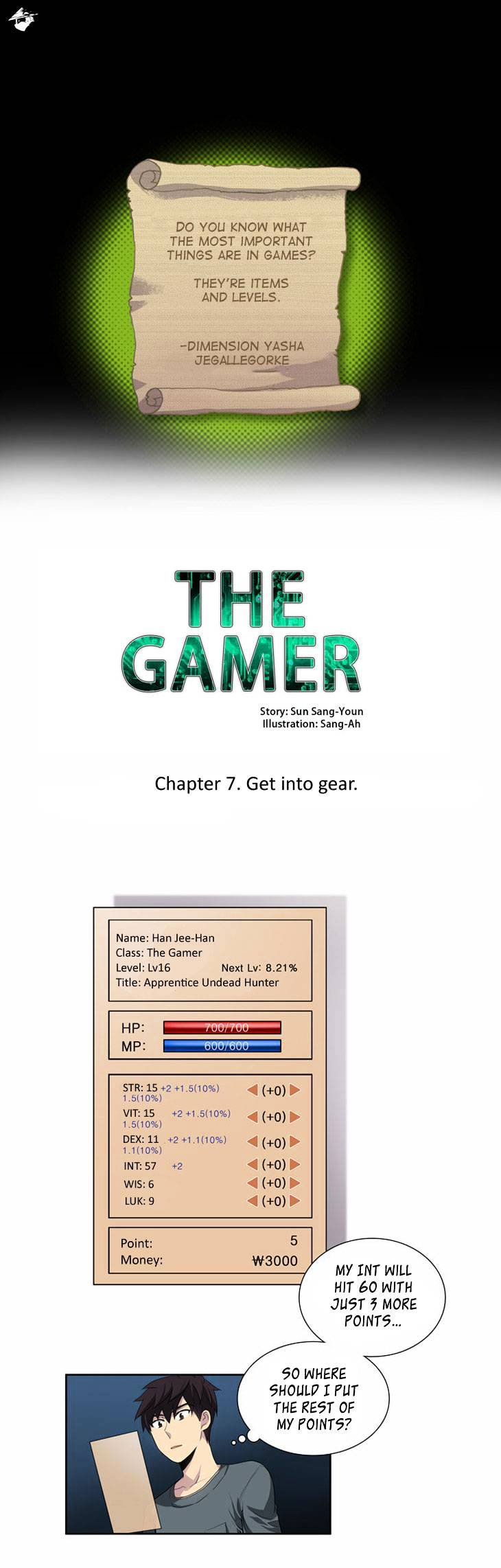 The Gamer - chapter 20 - #1