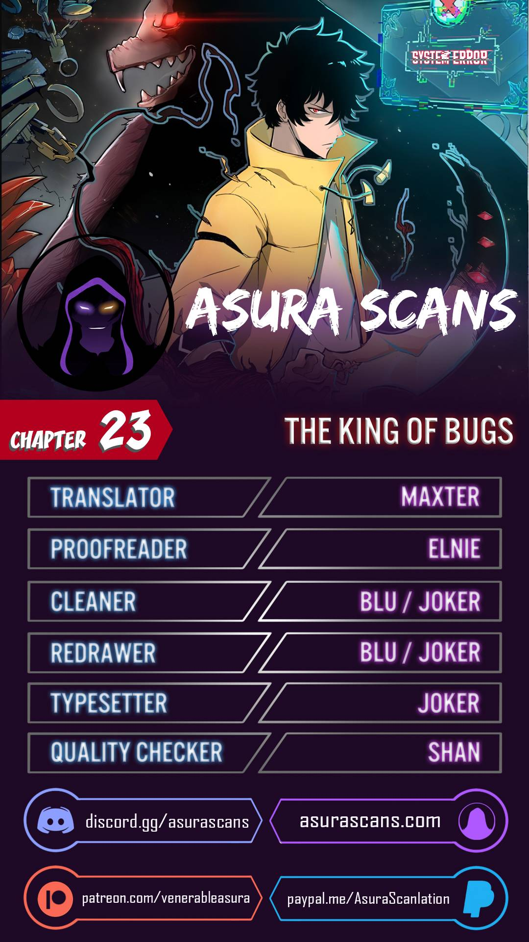 The King Of Bugs - chapter 23 - #1