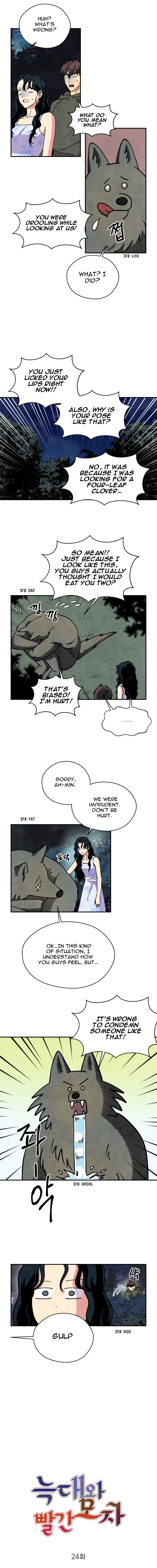 The Little Red Riding Hood - chapter 24 - #3
