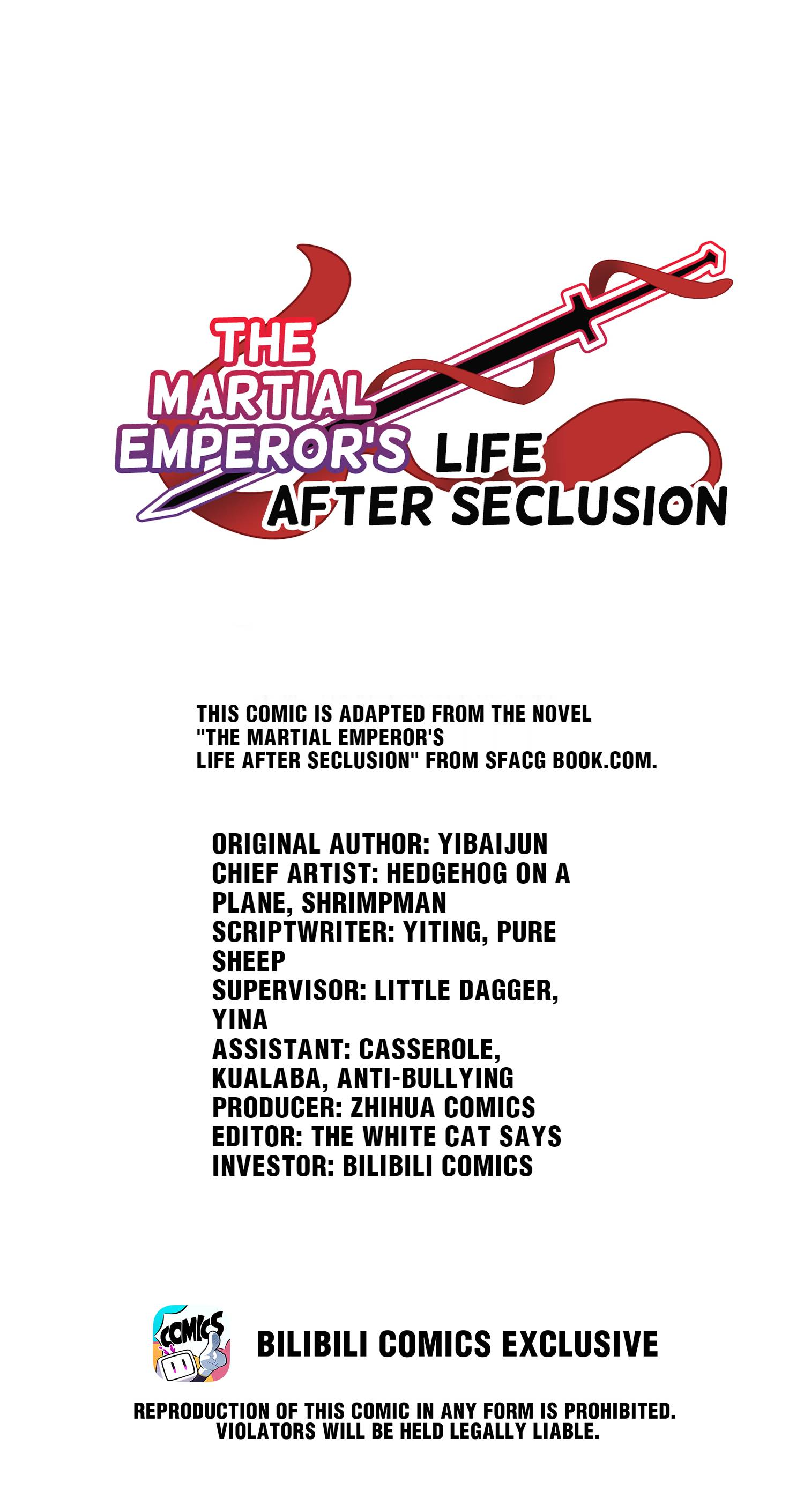 The Martial Emperor's Life After Seclusion - chapter 68 - #1