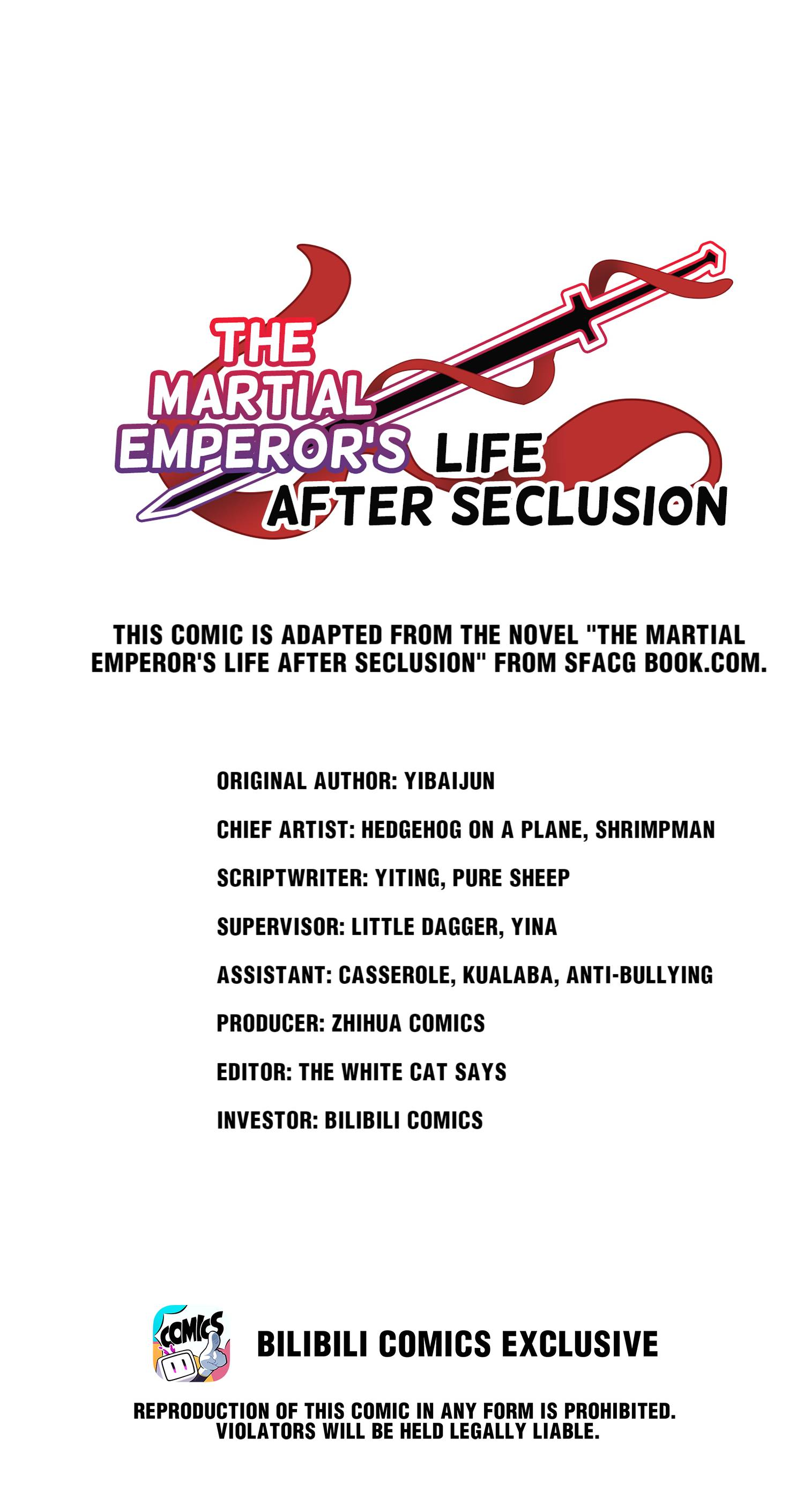 The Martial Emperor's Life After Seclusion - chapter 83 - #1