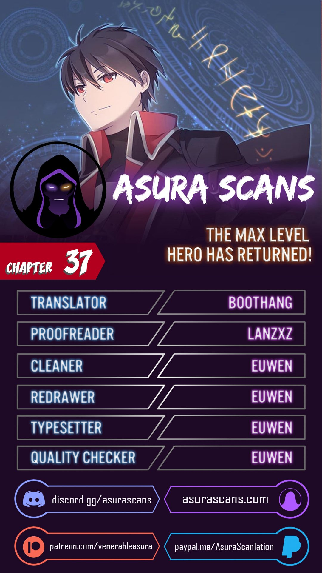 The Max Level Hero has Returned! - chapter 37 - #1