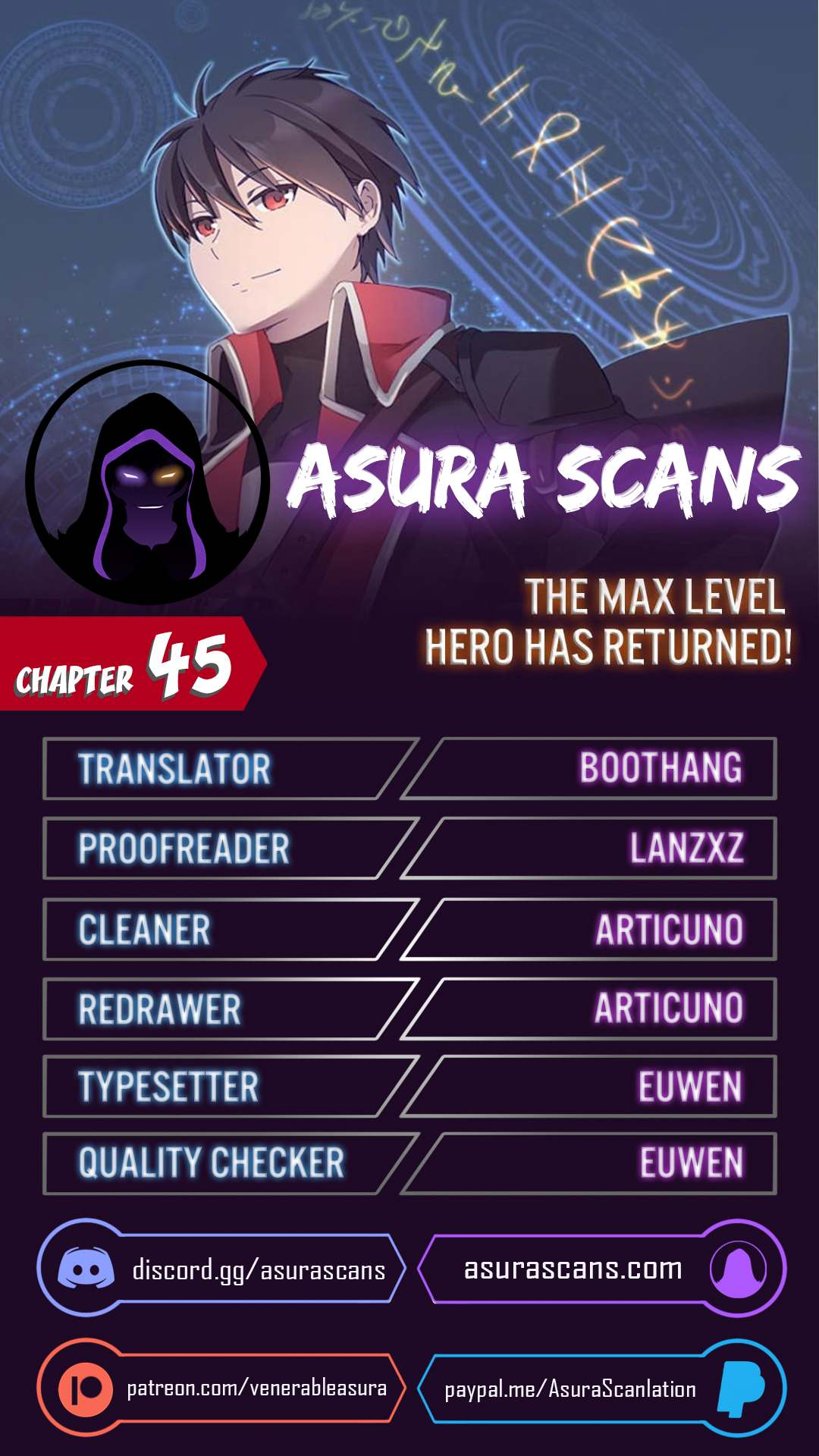 The Max Level Hero Has Returned! - chapter 45 - #1