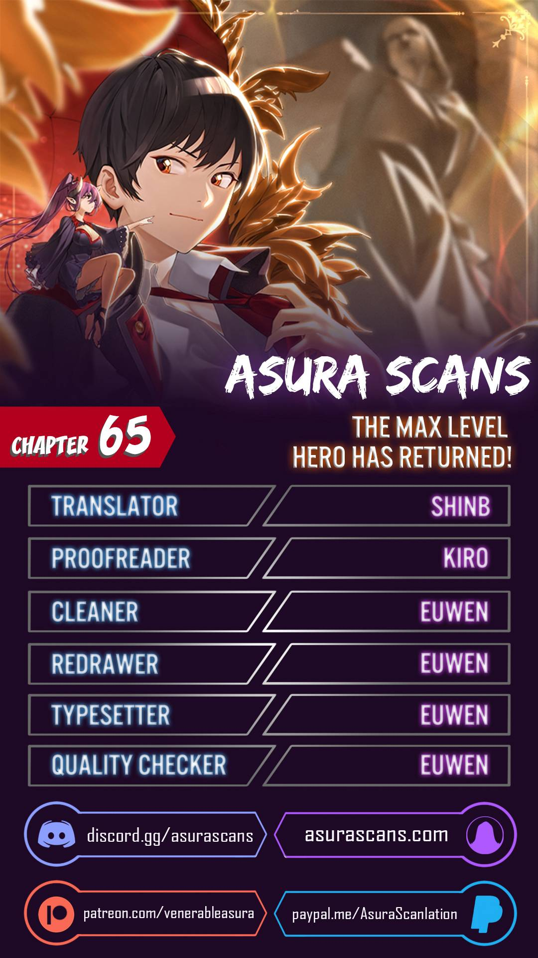 The MAX leveled hero will return! - chapter 65 - #1