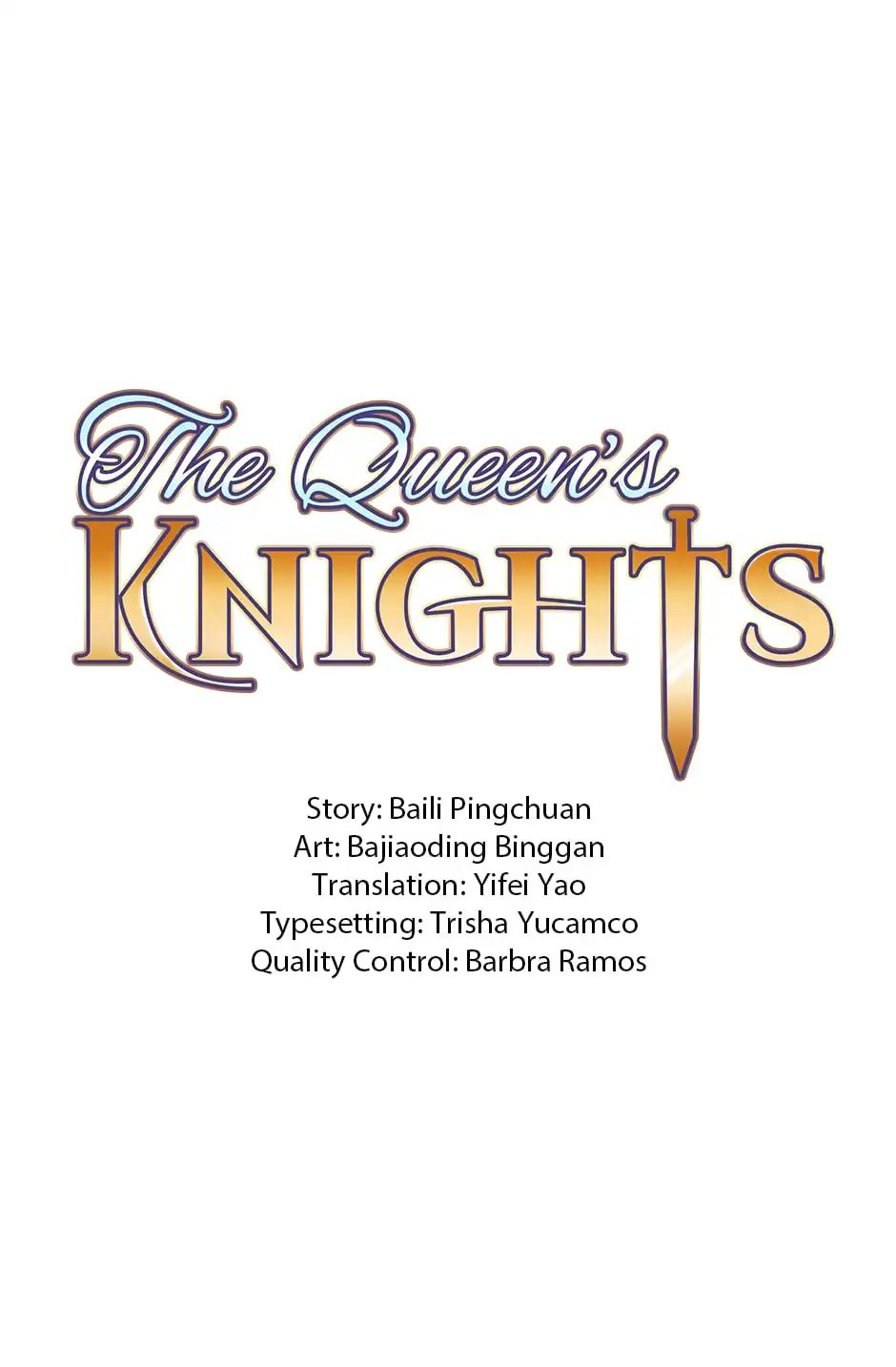 The Queen's Knights - chapter 9 - #1