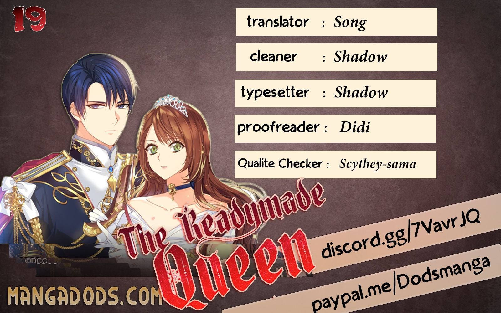 The Readymade Queen - chapter 19 - #1